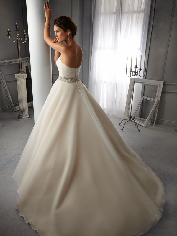 Belle Back Wedding Gown Leeds