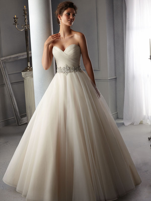 Belle Front Wedding Gown Leeds