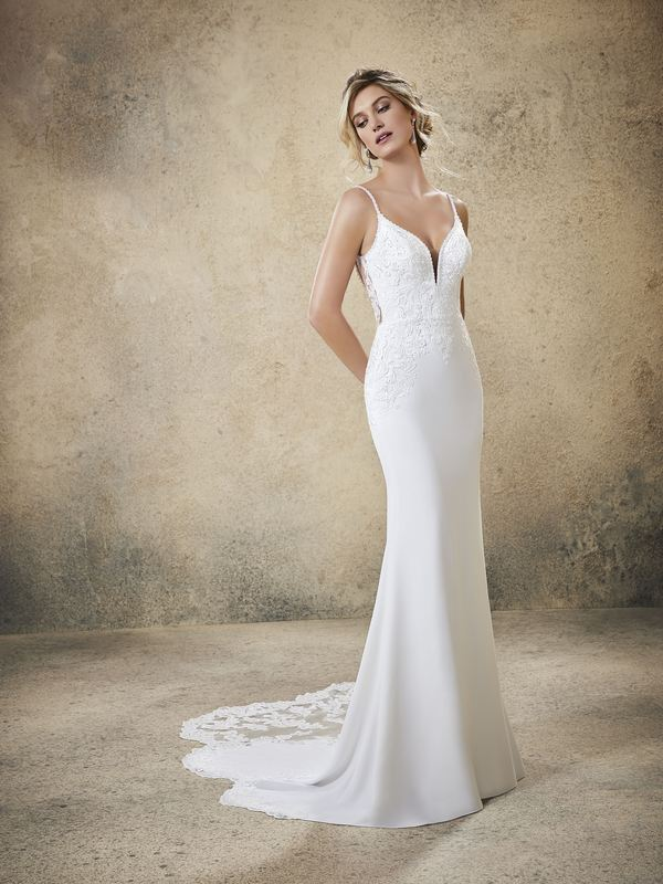 Mori Lee - Rasia - 5773 (Front) Wedding Gown Leeds