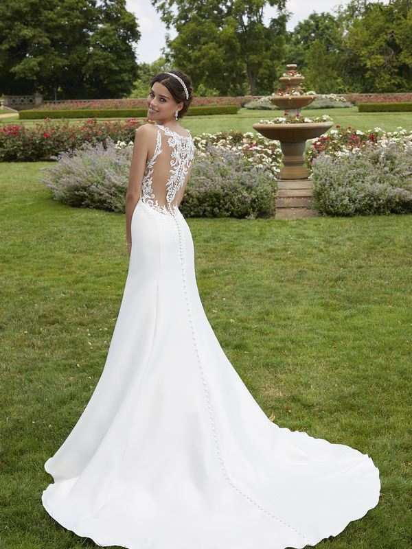 Mori Lee - Sandy - Style 5804 (back) Wedding Gown Leeds