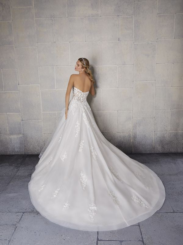 Mori Lee - Shania - 2140 (back) Wedding Gown Leeds