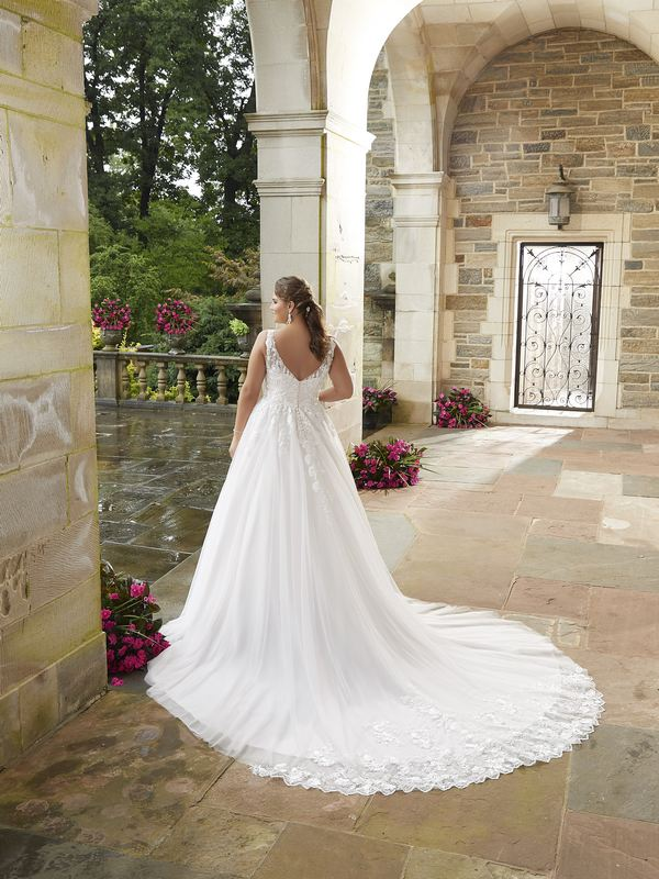 Mori Lee - Sigourney - 3286 (back) Wedding Gown Leeds