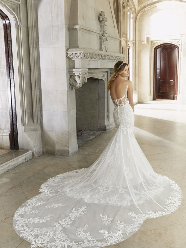 Mori Lee - Sigrid - 2128 (back) Wedding Gown Leeds