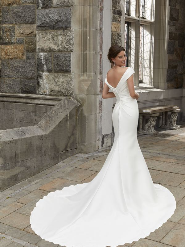 Mori Lee - Stacey - 5812 (back) Wedding Gown Leeds