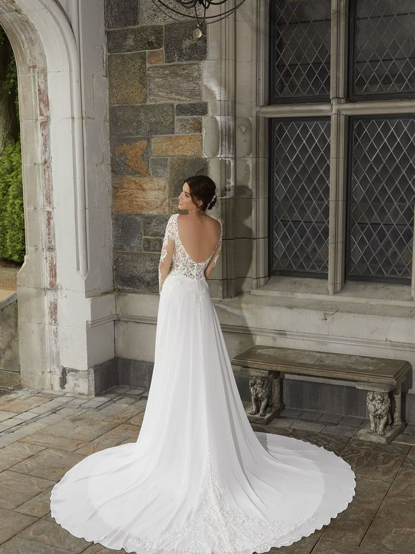 Mori Lee - Stevie - 5816 (back) Wedding Gown Leeds