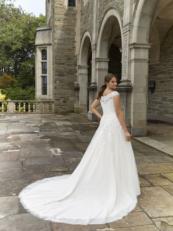 Mori Lee - Susan - 3288 (back) Wedding Gown Leeds