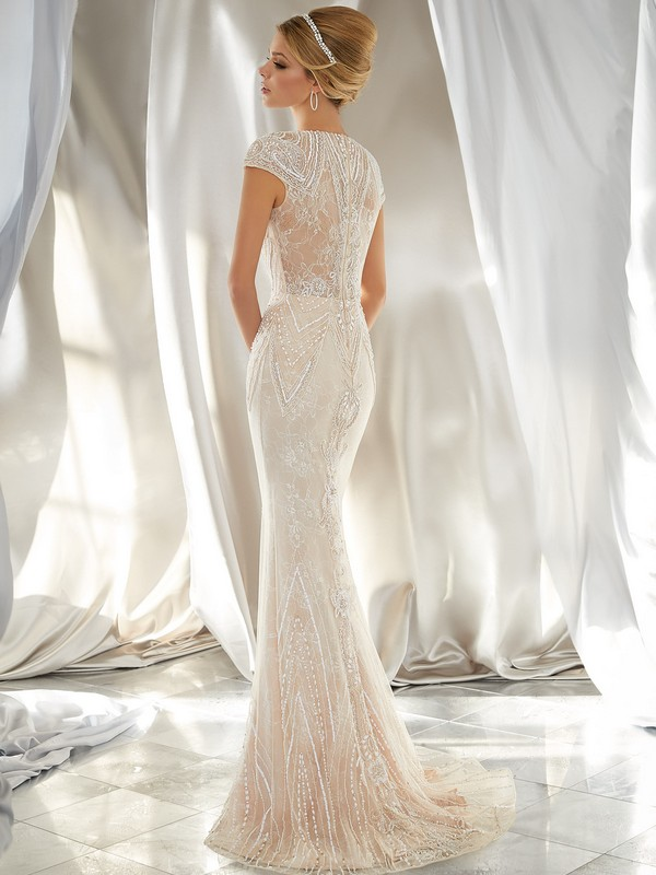 Mori Lee Charleston Reverse Wedding Gown Leeds