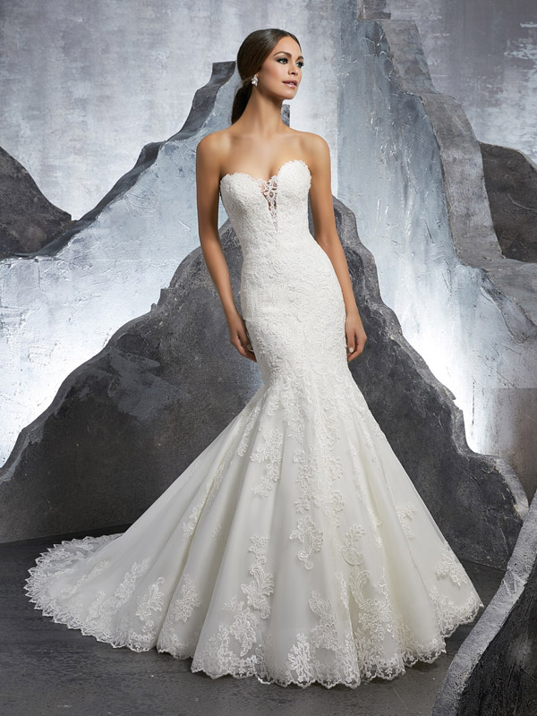 Mori Lee Kaitlyn Front Wedding Gown Leeds
