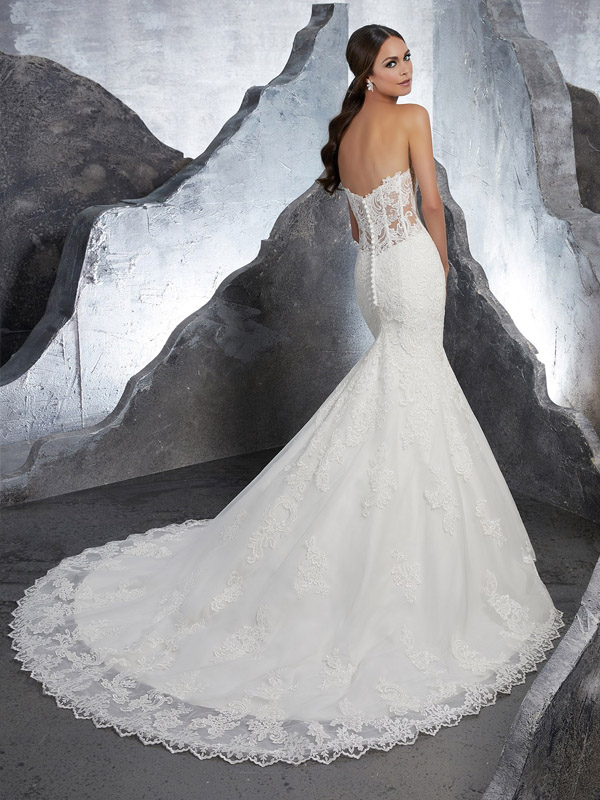 Mori Lee Kaitlyn Reverse Wedding Gown Leeds