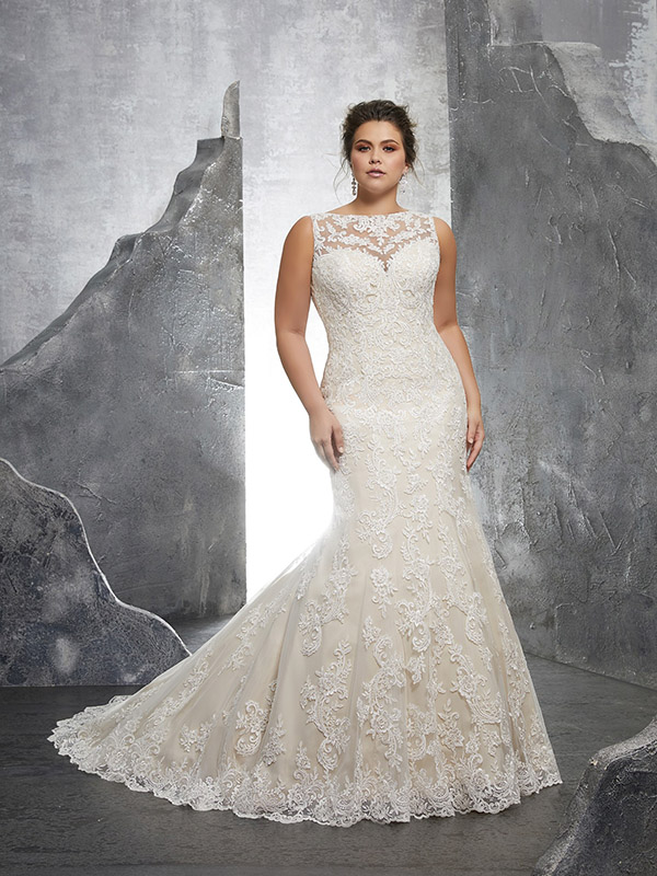 Mori Lee Keri front Wedding Gown Leeds