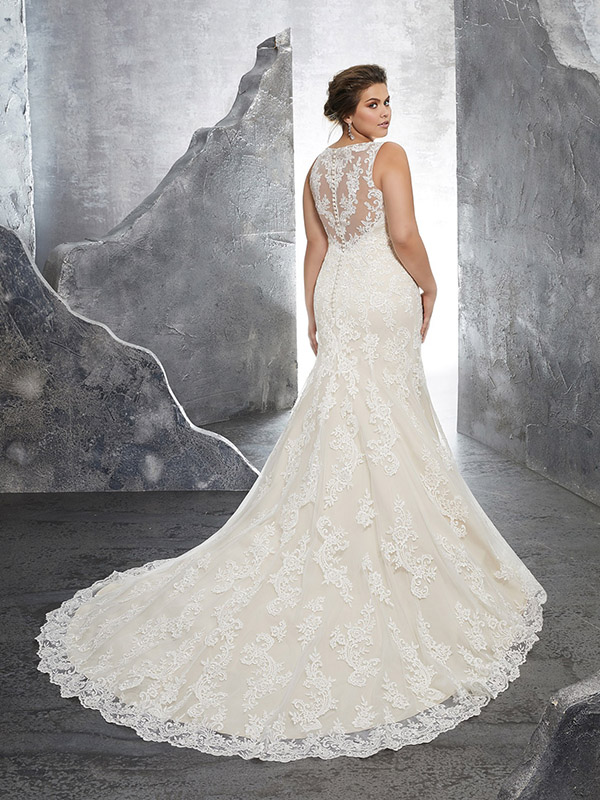 Mori Lee Keri reverse Wedding Gown Leeds