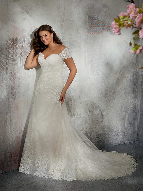 Mori Lee Laverna front Wedding Gown Leeds