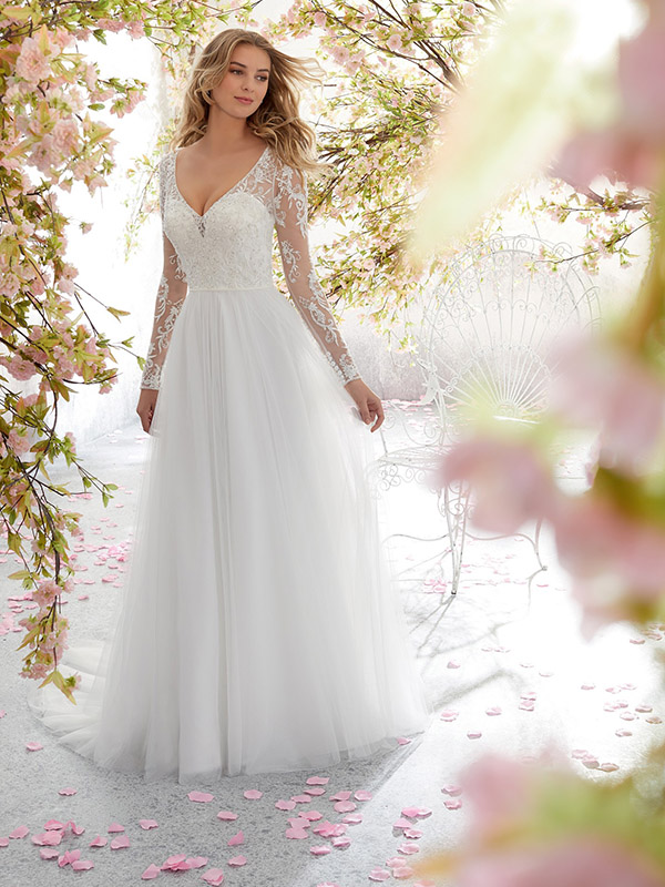 Mori Lee Leanne front Wedding Gown Leeds