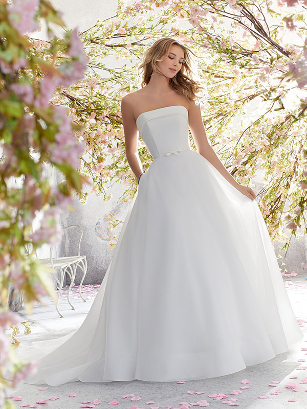 Mori Lee Lucille front Wedding Gown Leeds