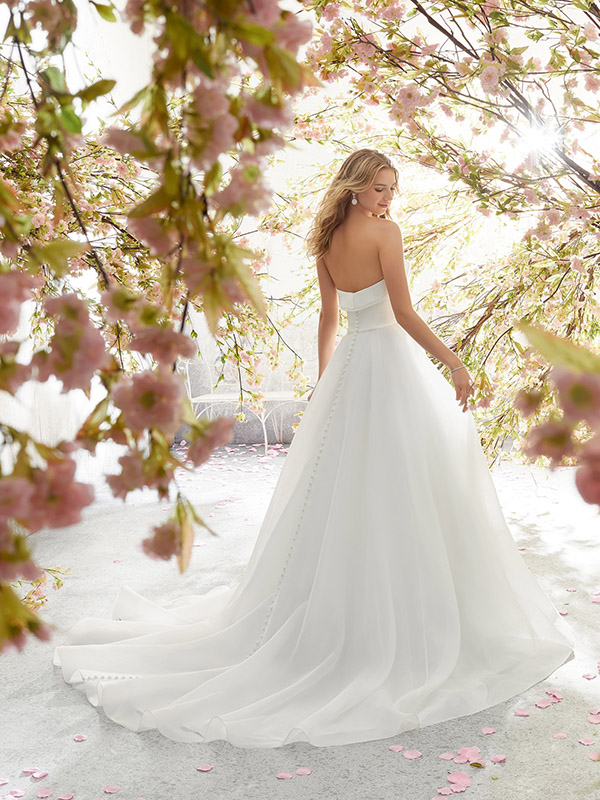 Mori Lee Lucille reverse Wedding Gown Leeds