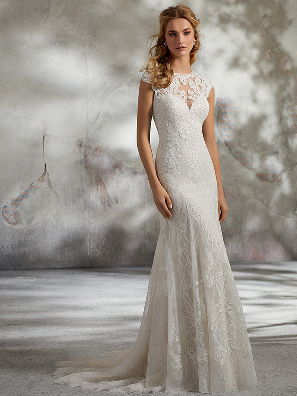 Mori Lee Lynette front Wedding Gown Leeds