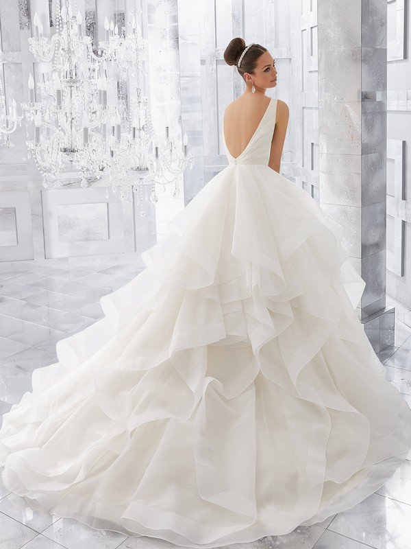 Mori Lee Milly Reverse Wedding Gown Leeds