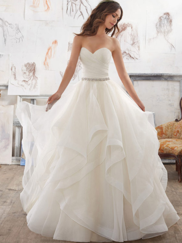 Mori Lee marrisa front Wedding Gown Leeds