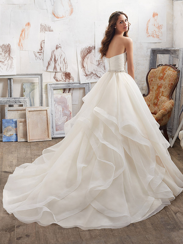 Mori Lee marrisa reverse Wedding Gown Leeds