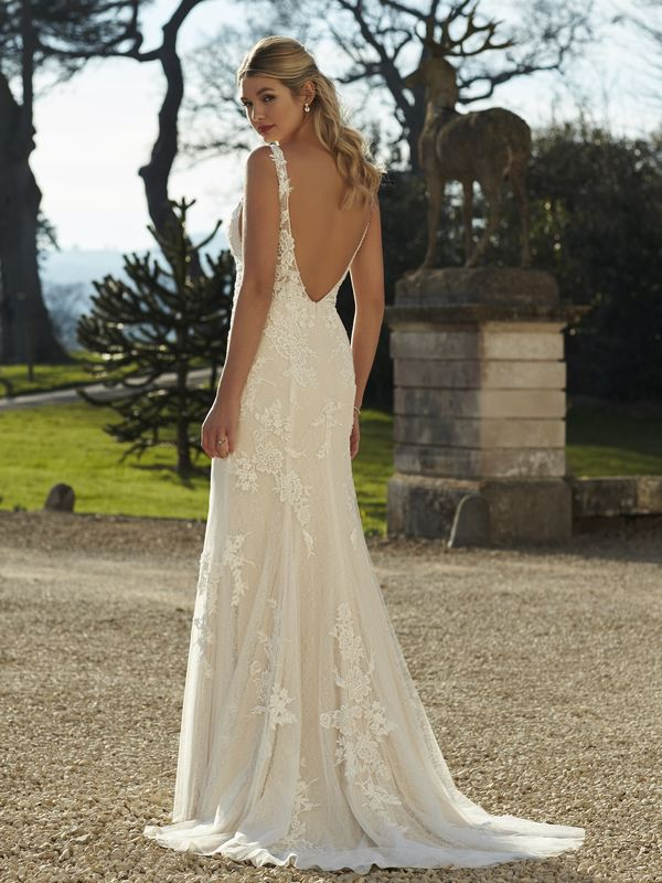 Romantica - Blakely (back) Wedding Gown Leeds