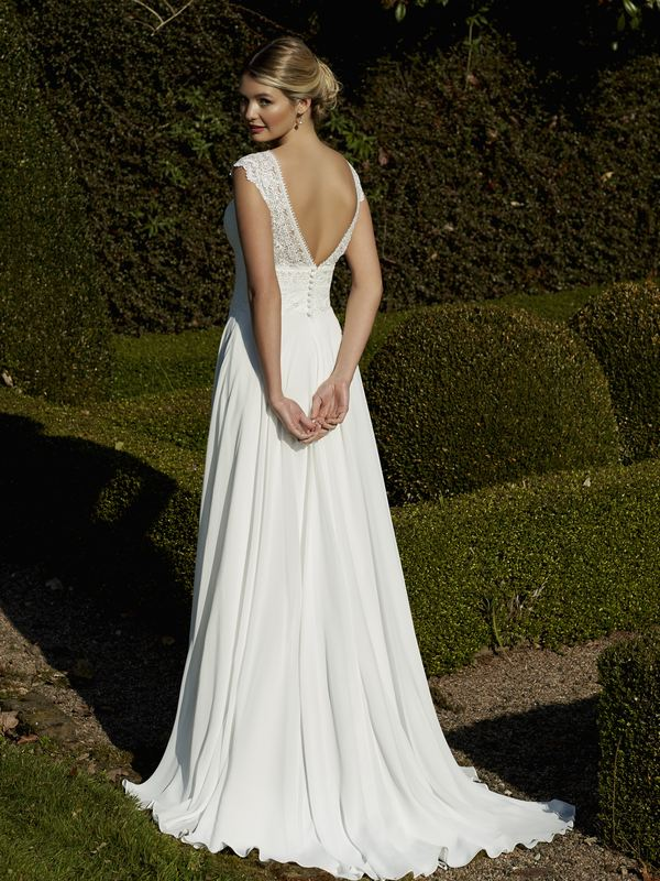 Romantica - Brodie (back) Wedding Gown Leeds