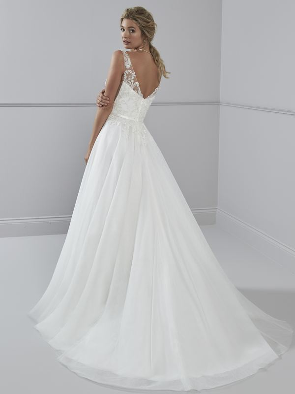 Romantica - Clarissa (back) Wedding Gown Leeds