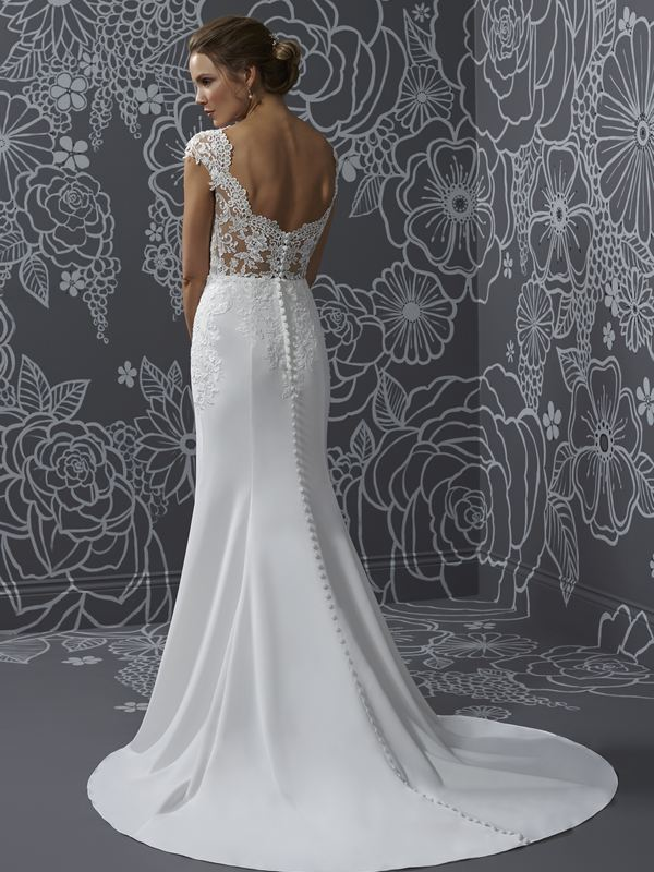 Romantica - Katrina (back) Wedding Gown Leeds