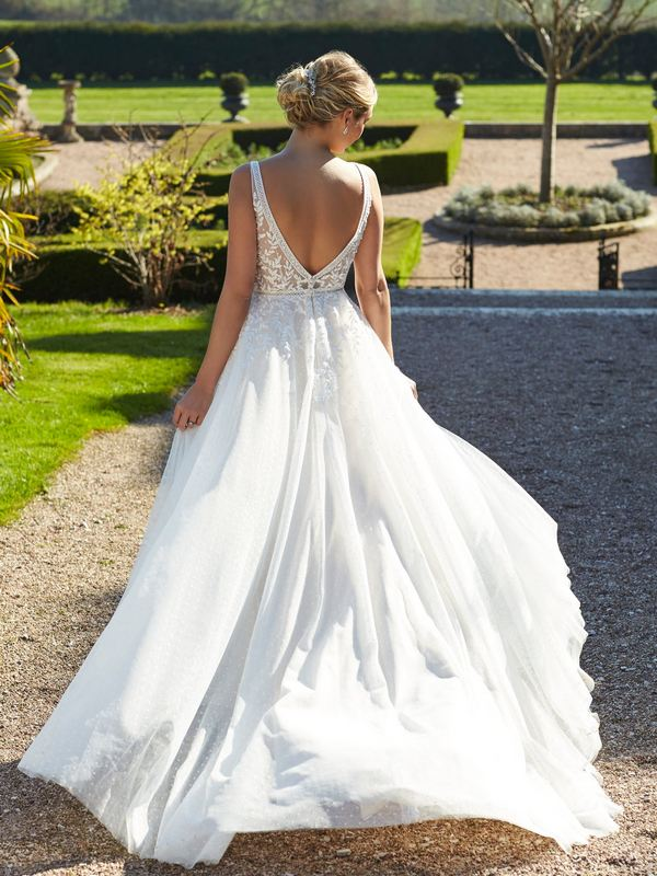 Romantica - Maeve (back) Wedding Gown Leeds