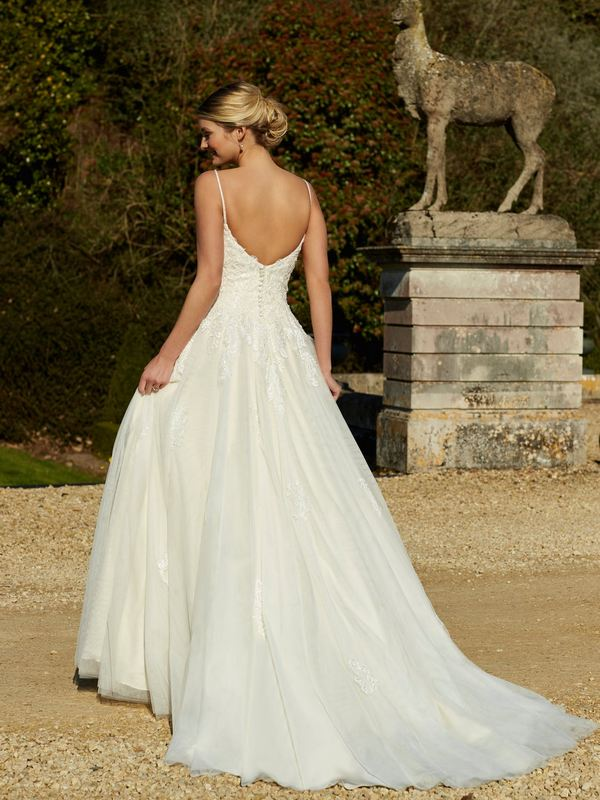 Romantica - Maura (back) Wedding Gown Leeds