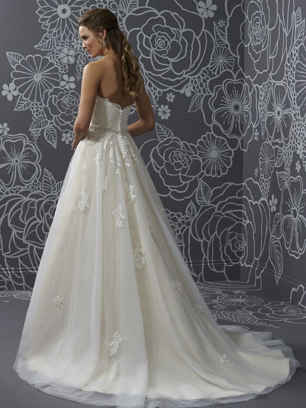 Romantica - Nicola (back) Wedding Gown Leeds