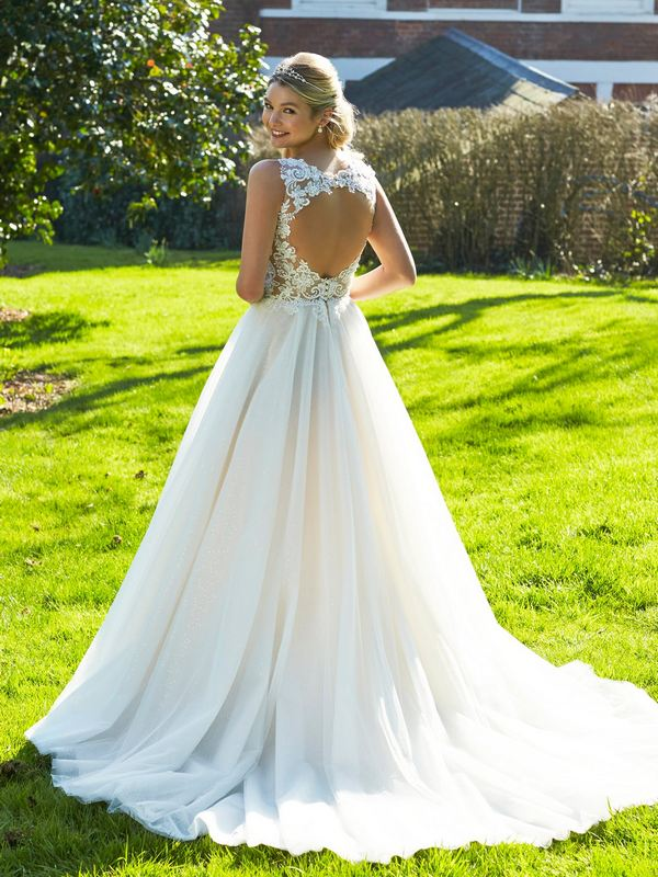 Romantica - Sabine (back) Wedding Gown Leeds