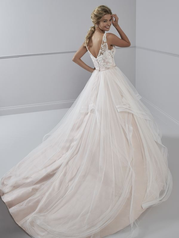 Romantica - Solange (back) Wedding Gown Leeds