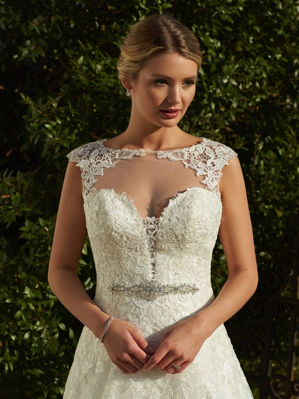 Romantica - Stella (with Illusion bodice) Wedding Gown Leeds