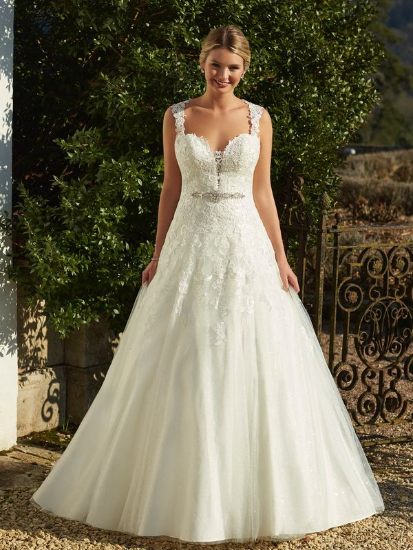 Romantica - Stella (with straps) Wedding Gown Leeds