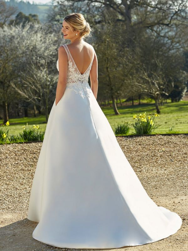 Romantica - Willa (back) Wedding Gown Leeds