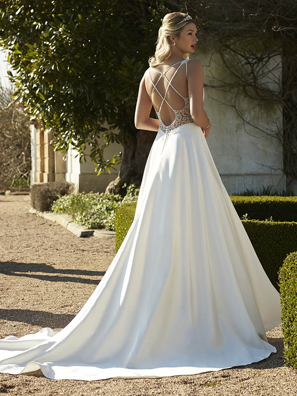 Romantica of Devon Aurelia Reverse Wedding Gown Leeds