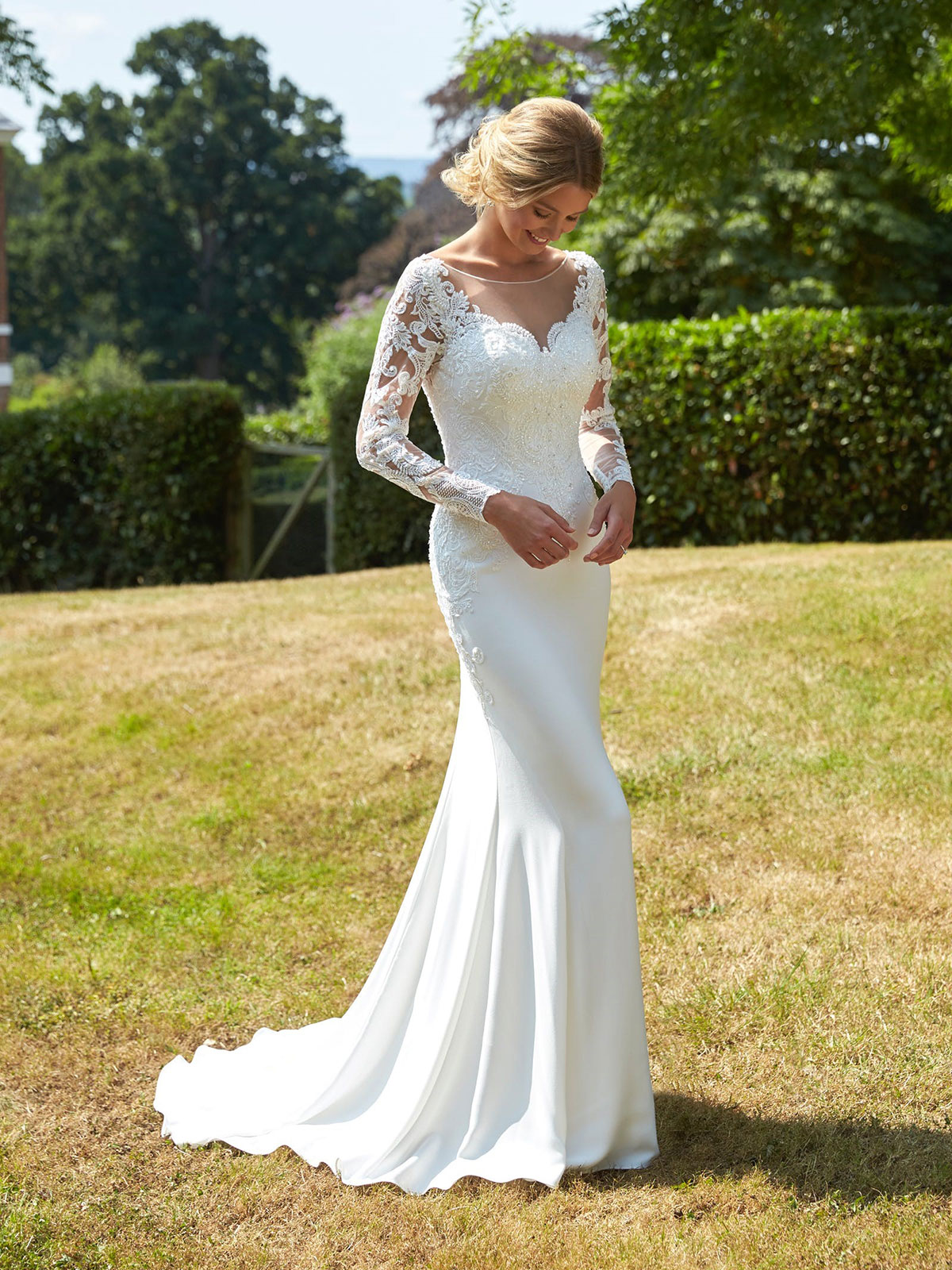 Romantica of Devon Pamela Wedding Gown Leeds