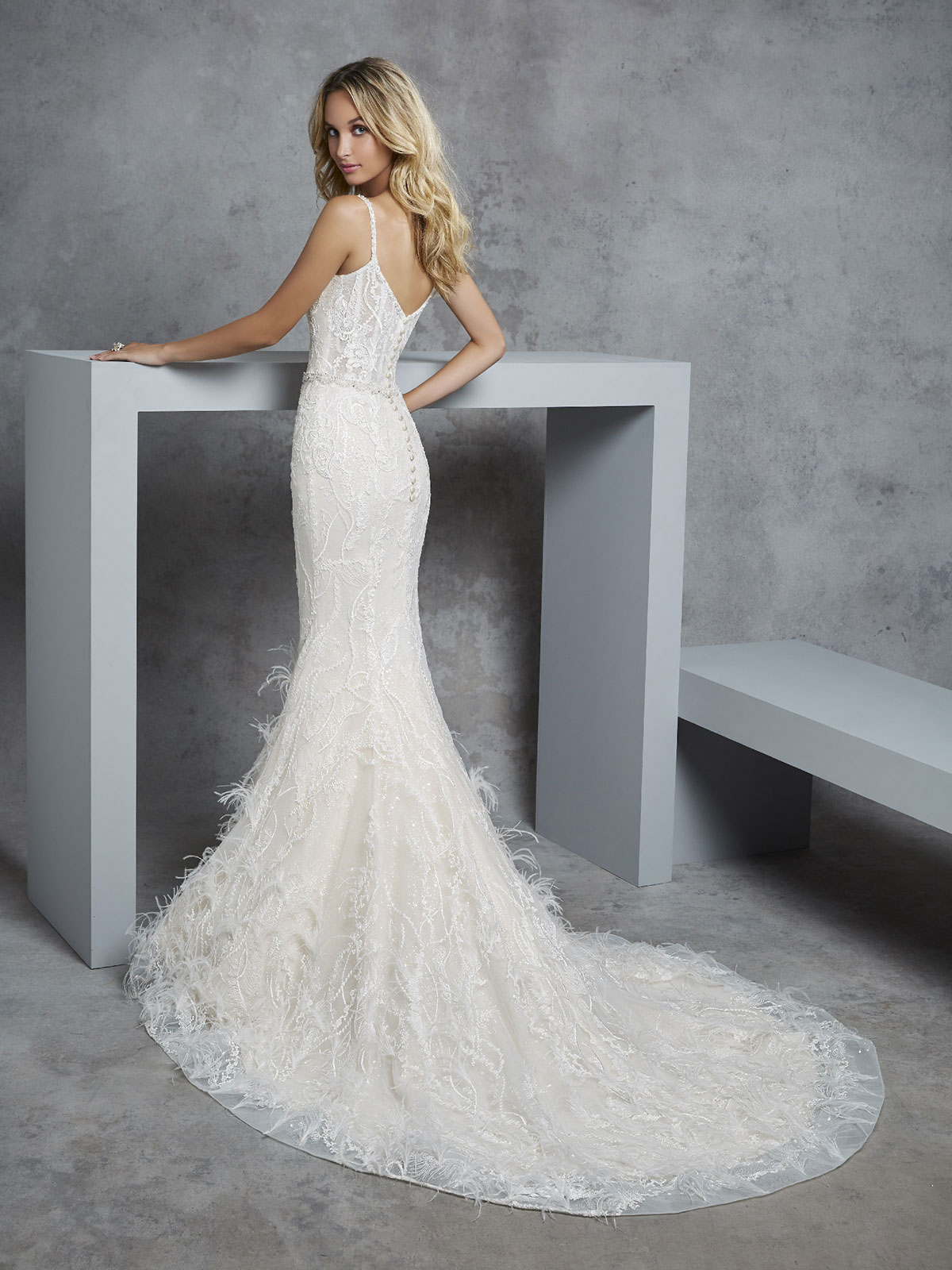 Ronald Joyce - Carleen Reverse Wedding Gown Leeds