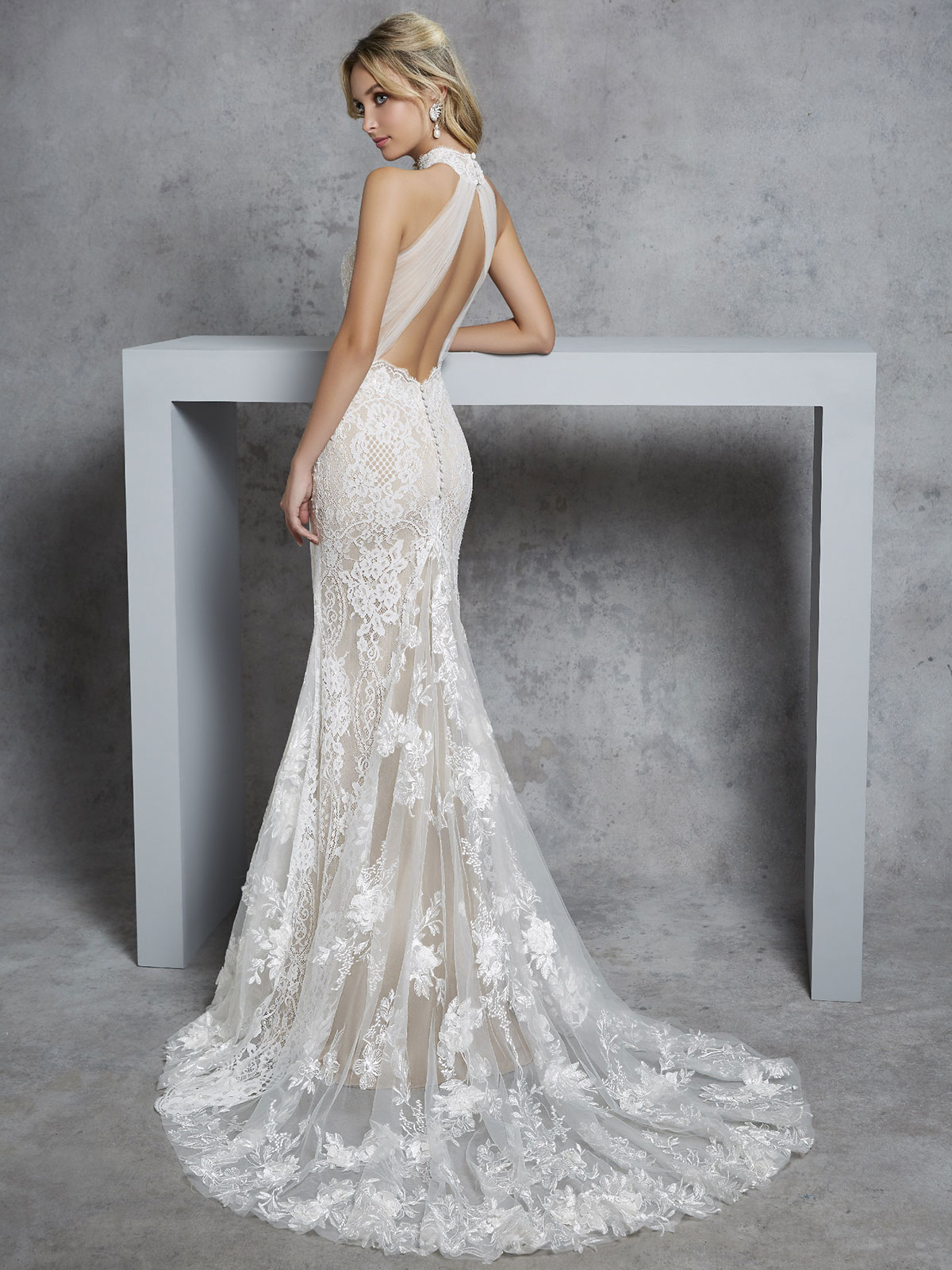 Ronald Joyce - Carlotta Reverse Wedding Gown Leeds