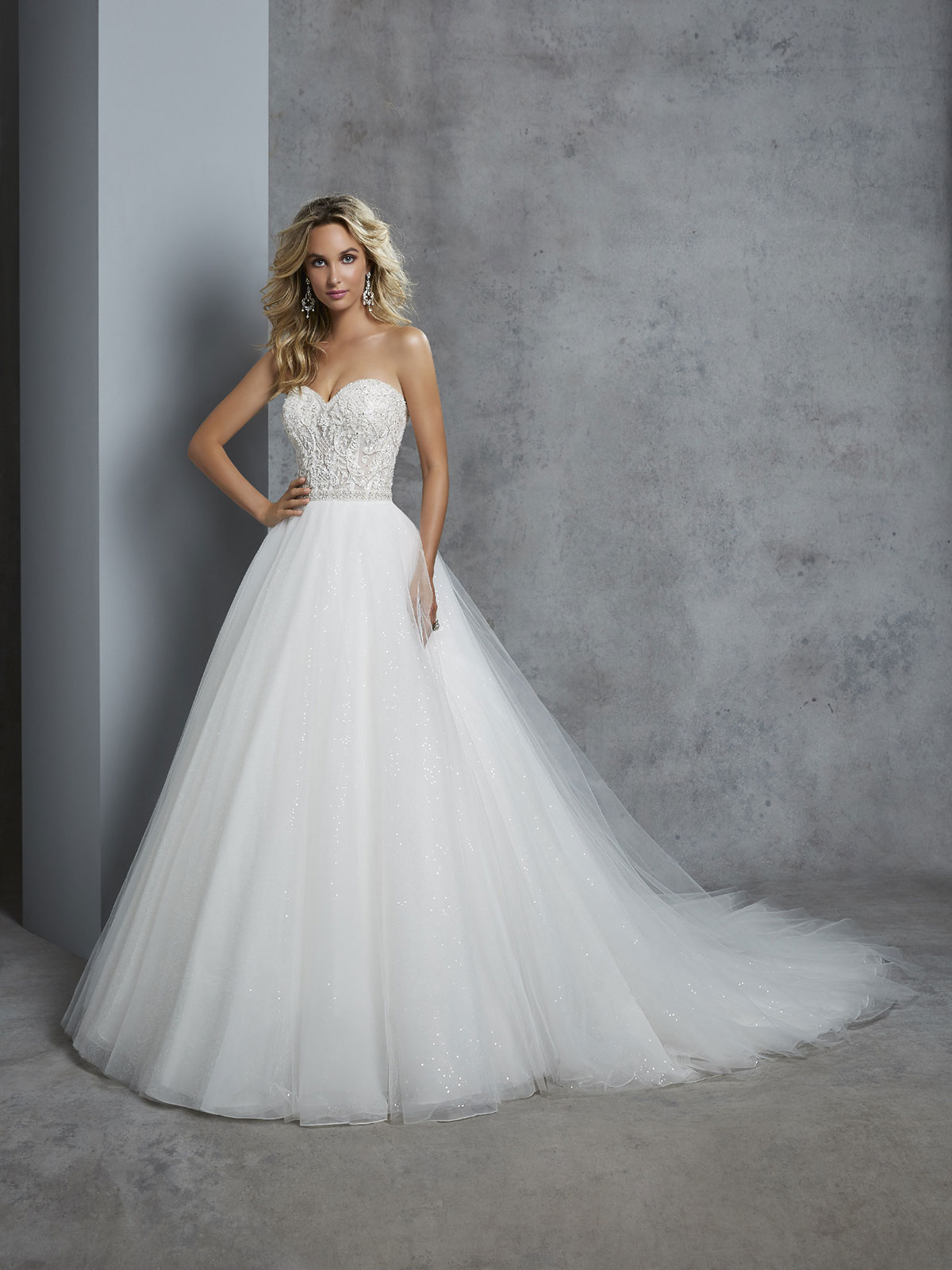 Ronald Joyce - Cherie Front Wedding Gown Leeds