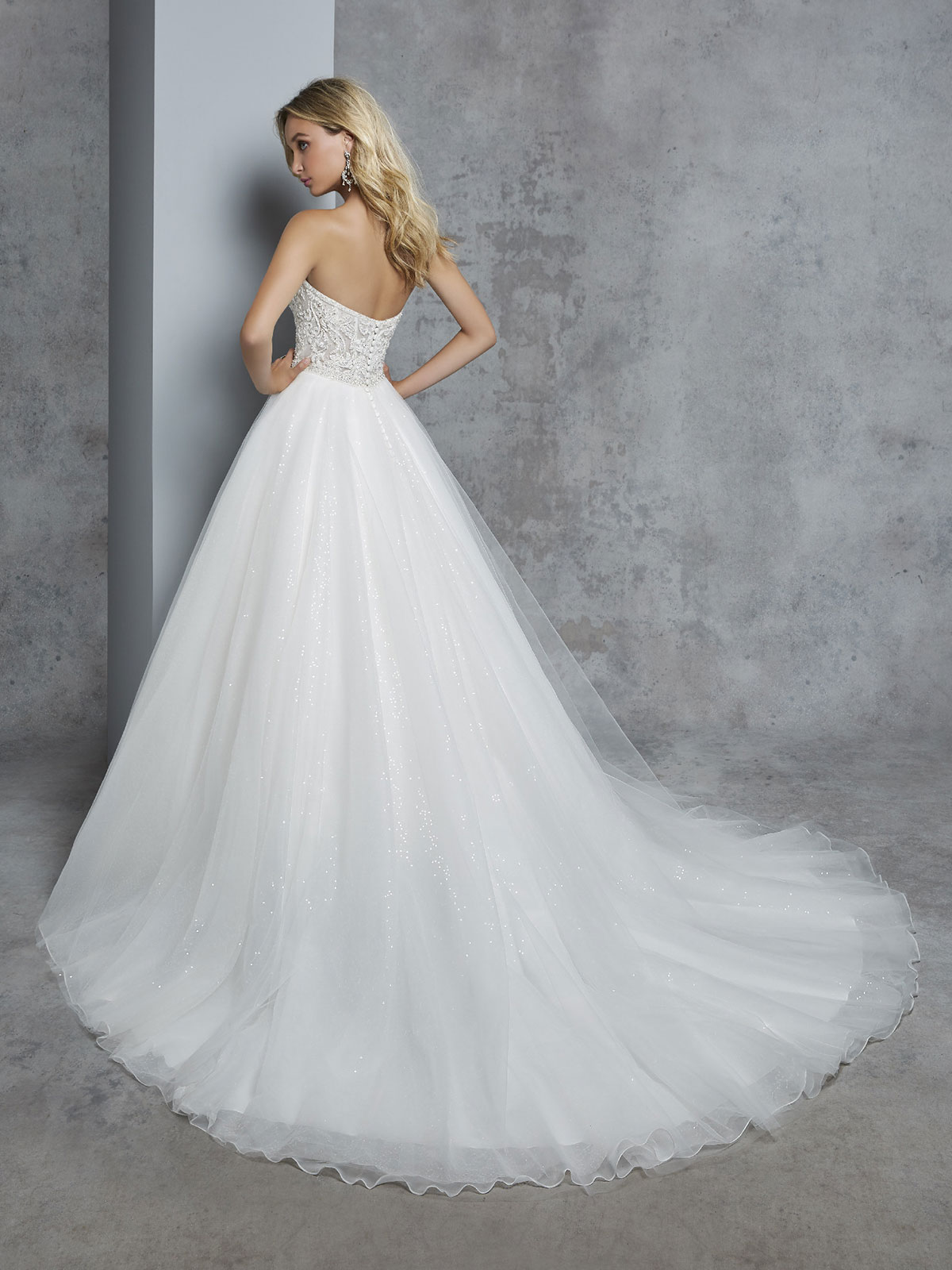 Ronald Joyce - Cherie Reverse Wedding Gown Leeds