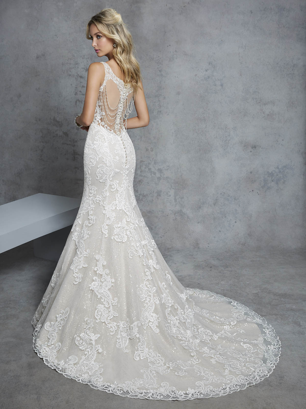 Ronald Joyce - Claudia Reverse Wedding Gown Leeds
