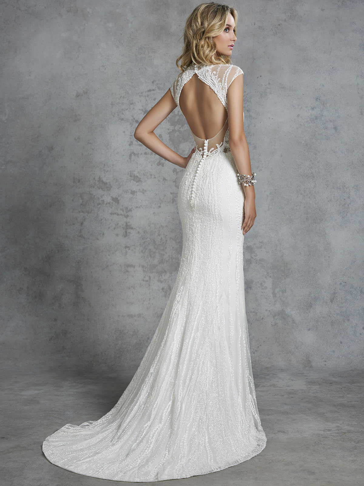 Ronald Joyce - Cornelia Reverse Wedding Gown Leeds