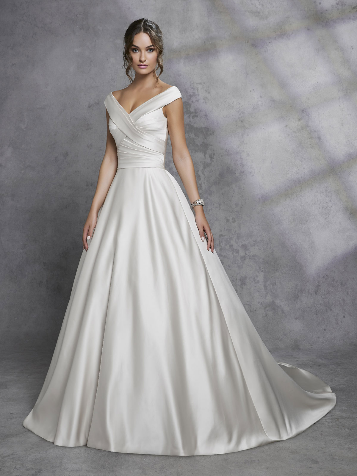 Ronald Joyce - Idony Front Wedding Gown Leeds