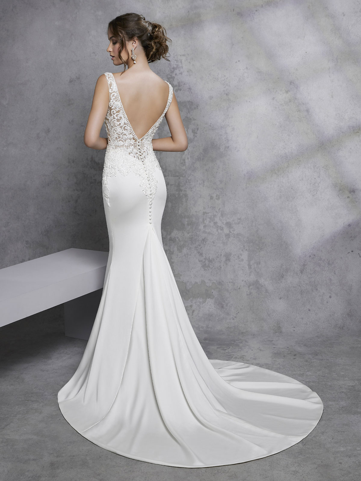 Ronald Joyce - Imola Reverse Wedding Gown Leeds