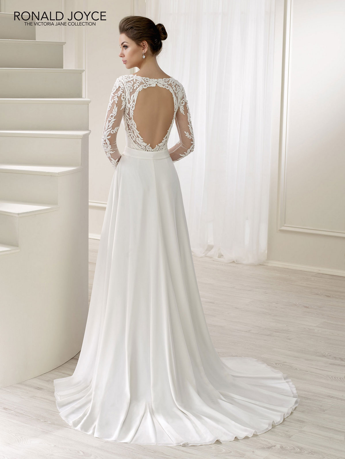 Ronald Joyce - Lea Reverse Wedding Gown Leeds