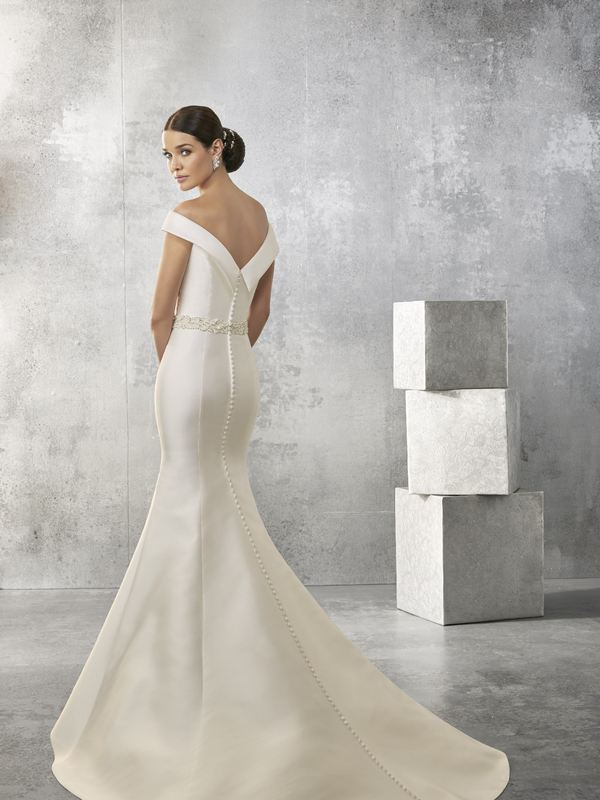Ronald Joyce Amanda - Style 69153 (back) Wedding Gown Leeds